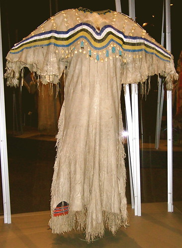 NMAI_Woman's Buckskin Dress (Striped Shoulders) | Flickr - Photo ...