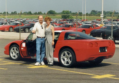 at factory 1997 C5 Corvette