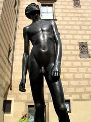 Outside the Toy Museum (francesbean) Tags: boy sculpture statue naked republic czech prague prag praha praga czechrepublic republika cesk