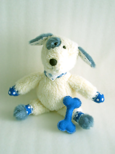 Blue modelling 1