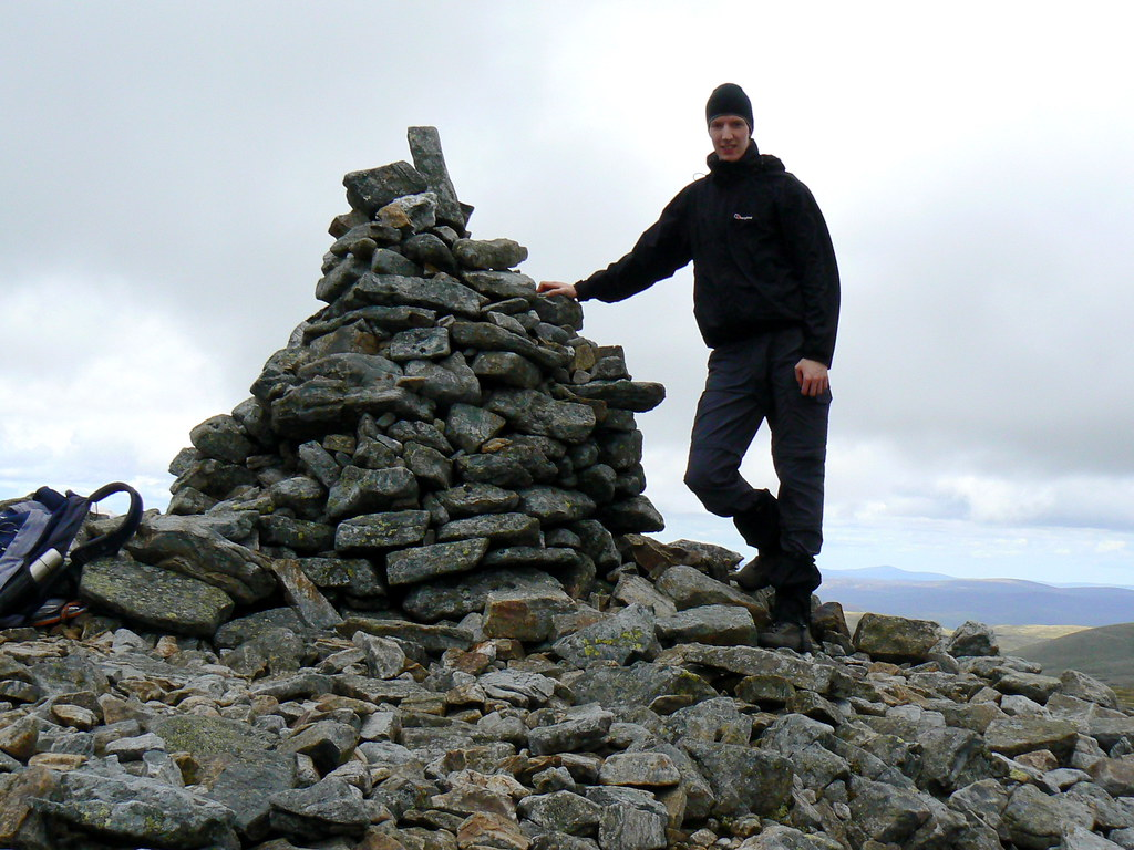 Summit of Cairn of Claise