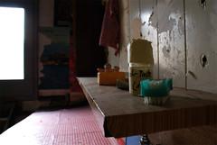 Creaking Kitchen Floor (sporknfoon) Tags: above school ballet kitchen apartment floor empty widget wohnung creaking leerstehend leerstehende