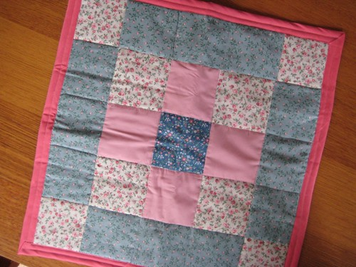 Lemonade Stand Swap quilt