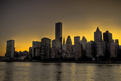 many many buildings (Tony Shi Photos) Tags: city nyc newyorkcity sunset apple skyline heaven paradise skyscrapers eastriver stunning metropolitan rooseveltisland hdr dense midtownmanhattan     thnhphnewyork  crowdedbuilding