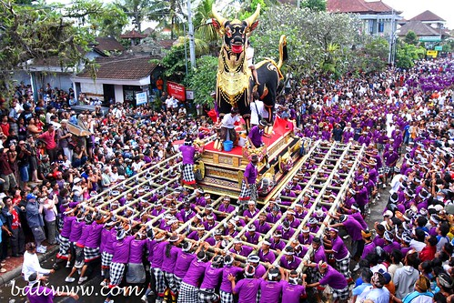 Cremation of Tjokorda Gde Agung Suyasa