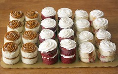 Cake Bites Tray (artofdessert) Tags: cake sandiego raspberry dulce dulcedeleche rianne lemoncurd redvelvetcake redvelvet creamcheesefrosting thebiggestgroup artofdessert lemonandraspberry