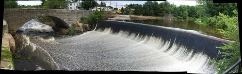 Merrimack Dam Panorama 2
