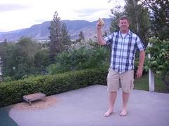 Colin's shows us his corn cob