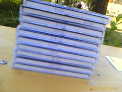 Stack of Lost Tracks CD's