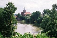 Regiswindis-Kirche in Lauffen am Neckar (alf sigaro (temp. abs.)) Tags: voss xenar badenwürttemberg lauffen lauffenamneckar diax diaxia regiswindiskirche xenar12845