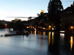 Lucerna dopo il tramonto