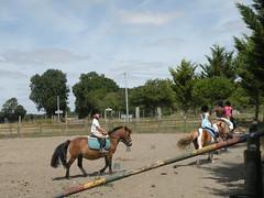 Charente : centre questre de Verdille (fredpanassac) Tags: horse caballo cheval child kind enfant nio mange pferd charente cours poney quitation centrequestre verdille