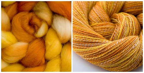 From fiber to yarn - Hello Yarn Falkland in Hive