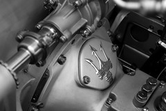 Maserati 6CM (erdero) Tags: bw detail macro beach monterey engine pebble pebblebeach concours transmission maserati concourse concoursdelegance delegance pebblebeachconcoursdelegance concoursedelegance 6cm pebblebeachconcoursedelegance maserati6cm