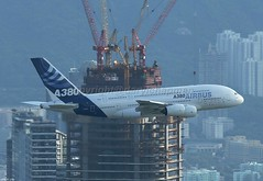 Airbus Industrie, F-WWJB, A380-841, Hong Kong (Daryl Chapman Photography) Tags: china plane hongkong amazing harbour special airbus a380 kowloon sar flypast fwwjb queenoftrheskies ringexcellence