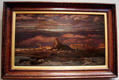The Spinx of the Seashore by Elihu Vedder at the de Young (velv) Tags: sphinx deyoung elihuvedder