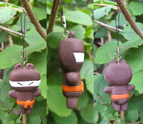 ninja-bear-phone-charm