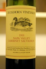 1991 Duckhorn Napa Valley Cabernet Sauvignon