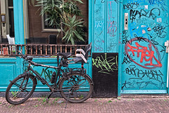 ATB ((Erik)) Tags: door bike graffiti atb notmybike allterrainbike readyforkindergarten