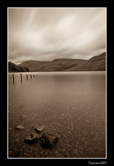 Wastwater. (numanoid69) Tags: longexposure lake mountains nationalpark lakedistrict cumbria fells wastwater almostanything nikond300 nd1000filter prideofengland