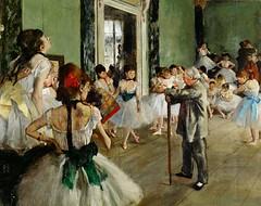Clases de baile, Edgar Degas. Impresionista.