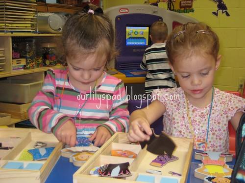 Preschool Orientation Paperdolls