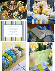 Blue & Green Baby Shower (Tastefully Entertaining) Tags: blue boy party baby green dessert cupcakes candy invitation favor placesetting babyshower entertaining tabledecor tastefullyentertaining