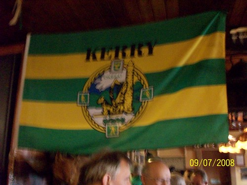 Ireland - Ring of Kerry Tour - Kerry Flag