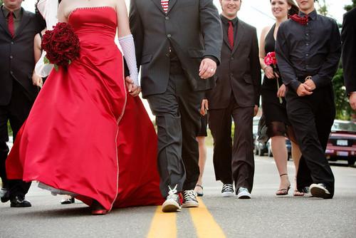 Splendid Converse Wedding