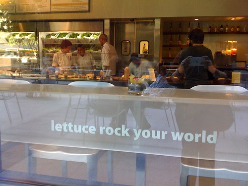 Lettuce rock your world by Nicole Lee from Flickr