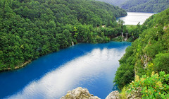 Plitvice lakes (Dragos Cosmin- Getty Images Artist) Tags: plitvickajezera croatia hrvatska centralcroatia blue albastru lac rezervatie unesco worldheritage dragos cosmin olariu reghin mures romania nikon autumn cascade colorful environment europe falls flora flowing foliage grass green greenery lake landscape nature october outdoors plitvice pond rocks scenery scenic serene stream tranquil travel tree turquoise vibrant water waterfall wilderness