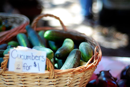 Cucumbers 2 for $1