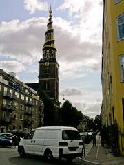 Vor Flersers Kirke in Kbenhavn (krewetka) Tags: church copenhagen denmark krewetka scandinavia2008