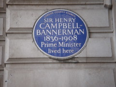 Photo of Henry Campbell-Bannerman blue plaque
