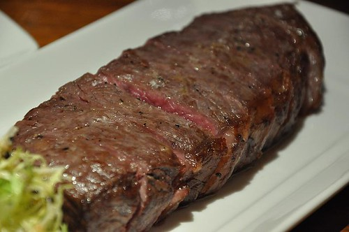 New York Strip Steak (aka Shortloin / Kansas City Strip Steak)