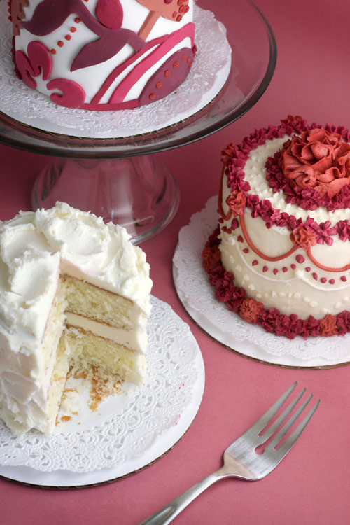 Three Mini Cakes