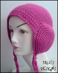 Earmuffs Beanie - Pink