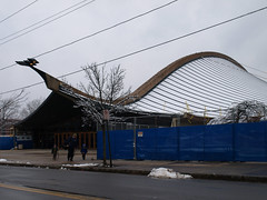 frozen wave (hbomb1947 the turnstile-jumper) Tags: building college architecture university connecticut icerink rink newhaven yale 2008 saarinen eerosaarinen thewhale december2008