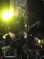 Billy - 12/8/08 (slowdawn) Tags: chicago smashingpumpkins billycorgan auditoriumtheatre jimmychamberlin jeffschroeder 12808 lisaharriton gingerreyes gingerpooley chrispooley