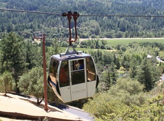 Sterling Vineyards aerial tram