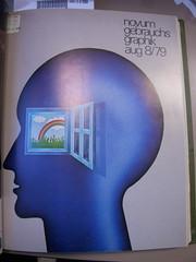Gebrauchsgraphik 08 1979 (bustbright) Tags: magazine design graphicdesign graphics cover german covers magazines 1979 magazinecover magazinecovers novumgebruachsgraphik novumgebrauchsgraphik
