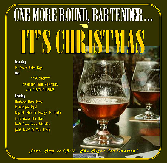 One More Round, Bartender...It's Christmas