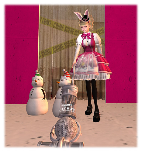 katat0nik Snow Bunny Dress 03
