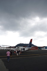 Our Plane to Bocas Del Toro