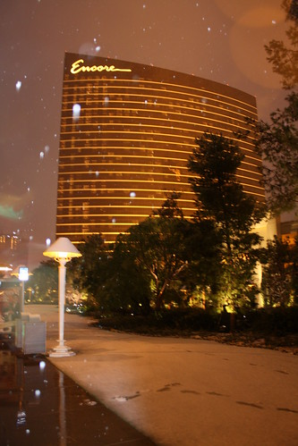 Encore snow- Las Vegas, NV by Twoleaf from Flickr