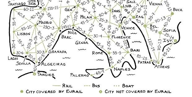 rick steves rail map