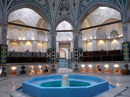 hammam del sultan mir ahmad en kashan