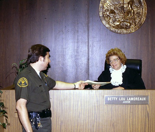 Judge Betty Lou Lamoreaux, 1980