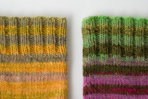 noro sock cuffs
