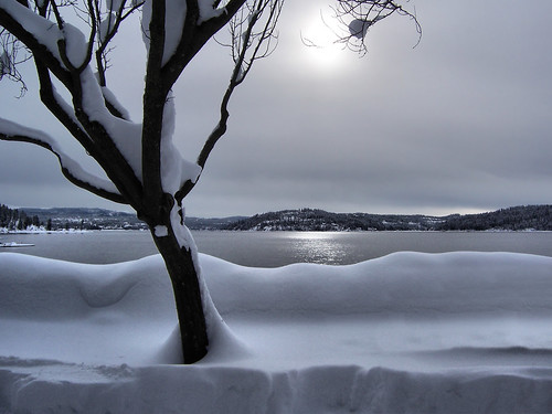 Lake CDA in Winter
